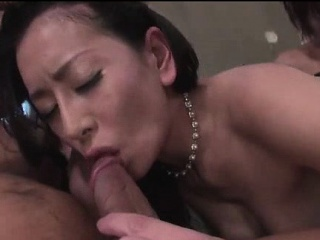 Busty Hot Japan Milf Four Like one another Fuck