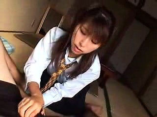 Mind-blowing Asian girl with a marvelous aggravation teases and pleases