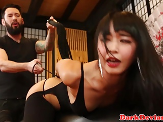 Asian bdsm mediocre Marica Hase roughly fucked