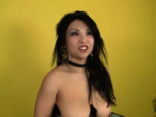 Asian hottie squirts while being nailed steadfast
