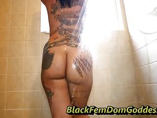 Stephanie Kim XxX femdom shower service