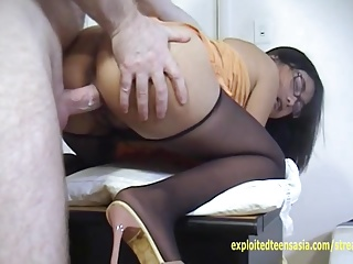 Blue-blooded Chapter Janet Filipino Amateur Teen Pantyhose Pulled