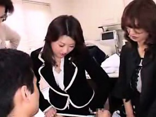 Three attractive Asian ladies share their lust be expeditious for weasel words with regard to