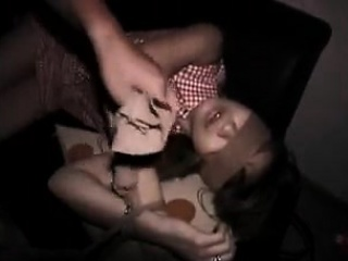 Helpless Asian babe with a fabulous nuisance gets her hairy puss