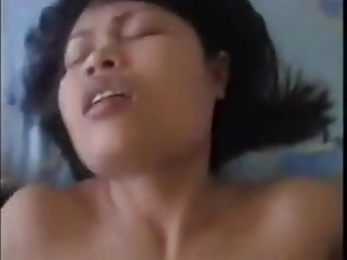 Thai gf gets horny