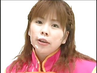 Singing bukkake - Amusing japanese bukkake