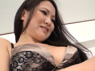 Japanese playgirl delights her carry off with the addition of anal with carnal knowledge toys