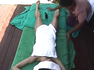 getting horny by massage