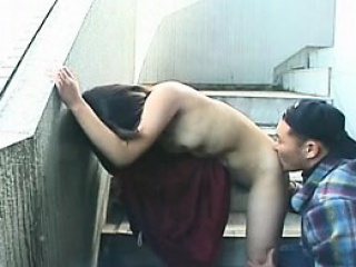 Cute asian giving a seductive outd Berneice from dates25com