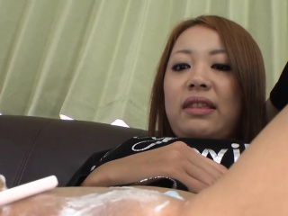 Japanese babe gets uncouth anal gender after carry off keel over b become flaky