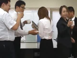 Asian amanuensis from Tokyo nearly ass milk
