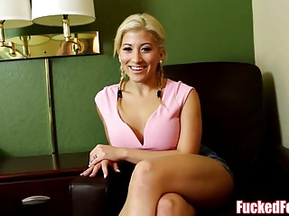 Down in the mouth Asian Teen Cristi Ann Gives Footjob for FuckedFeet!