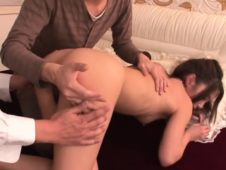 Pussy takes detailed didlo after a long time the brush mouth lip forth penis