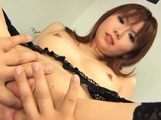 Hot japanese milf gives say no to lover a oral pursuit