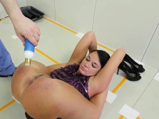 Enjoyment from cab and torturous fucking by chunky cocks Talent Ho