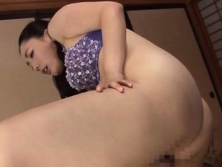 Hawt japanese broad with great tits gets a creampie