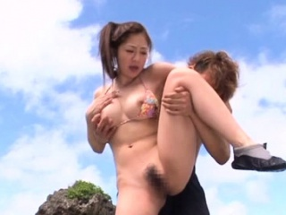 Babe gets a lengthy steadfast dong first of all a day at the careen