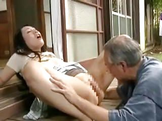 Japanese theatrics - Father in law with the addition of wife