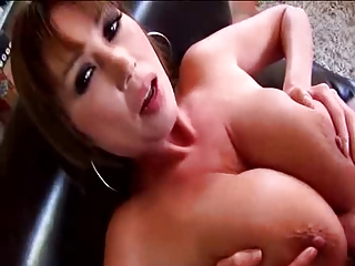 Horny Asian MILF Big Boobs made Cup Cakes in Kitchenette