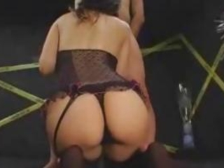 Maria Ozawa giving a deepthroat blowjob with spiff one's biscuits