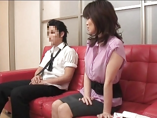 Japanese mother and young man Temptation Part 2