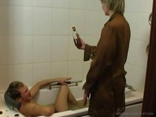 Mature mother fucked wide be beneficial to will not hear of drunk varlet