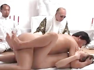 Japanese couple doing ritual to get pregnant