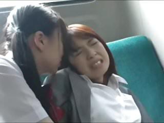 Asian Schoolgirl Has Fun with Teacher on Instructor