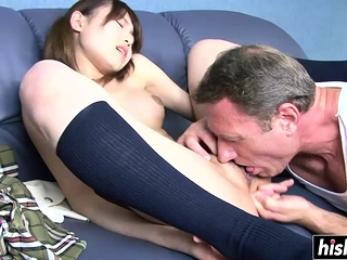 Cute Asian fucked in hardcore fashion