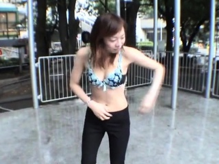 JAV public nudity extreme outdoor prospect Subtitled