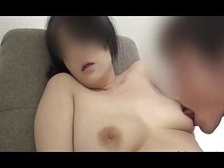 Japanese milf & Married become man Azusa