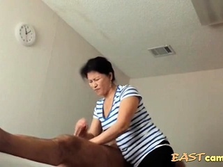 Asian Massage Parlour Old Asian Lady Makes Buyer Burst out with