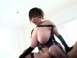 Japanese with big boobs