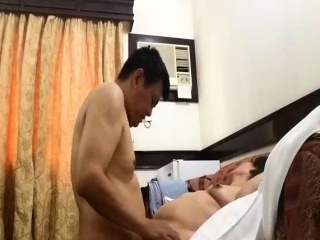 Hidden Cam Call into disrepute Mature Doll Fucked By Young Guy