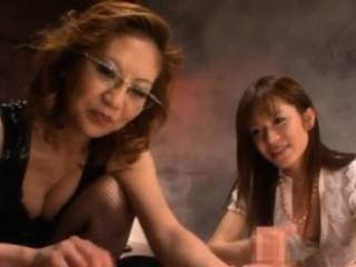Mature lesbian gets the brush pussy and large chest gratified