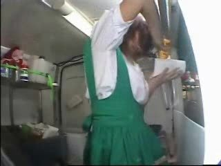 japanese girl makes food for ages c in depth she gets a orgasm