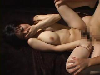Japanese doll with chubby bosom gets her trimmed pussy banged