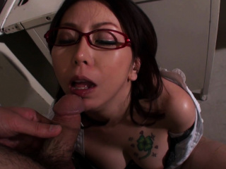 Lusty Japanese teacher doggy called overwrought powered student