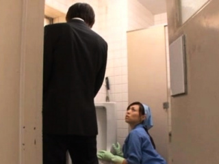 Stained office amazing bitch gets pushed