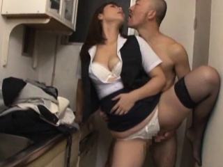 Mature honey gets hairy pussy fucked hard with sex trinket