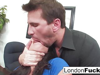 London Gets Bent Over and Office Fucked