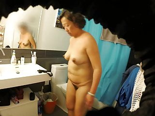 Meaty Hairy Asian Milf Wife Exposed all round Have a bowel movement