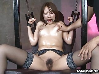 Miniature Japanese shady slut, Ryo Akanishi is then cum