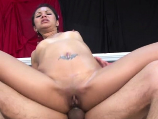 Lustrous eastern sweetheart fucked fucker