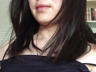 Chinese woman showing her boobs