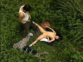 Hot Asian outdoor blowjob elbow this point