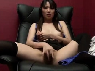 Asian hottie masturbation unexcelled