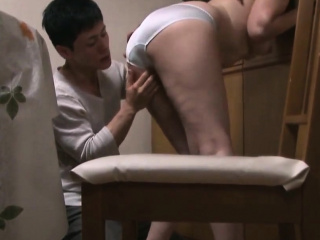 Young Japanese Guy Weekend Copiously Spent With Hot Aunt