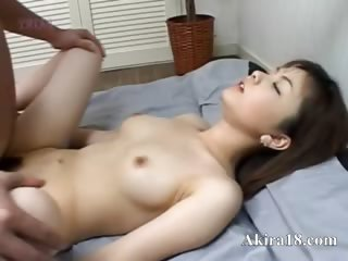 Japanese faggot wipe the floor with super hairy cunt