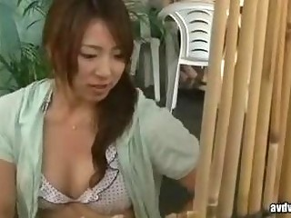 bird with an increment of wife strive a sex massage by geek everywhere beach 001